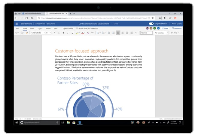 Microsoft's Office UI update includes a simpler, cleaner ribbon