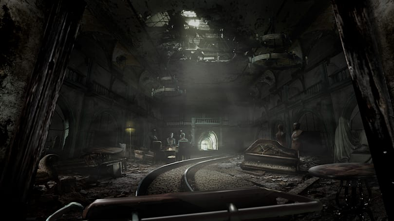 Sony's new PSVR shooter is a rollercoaster ride of horror