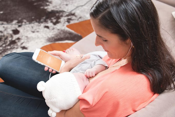 Even breastfeeding is getting quantified, thanks to Momsense