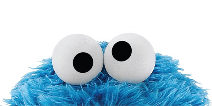 Cookie Monster wants to take over your browser
