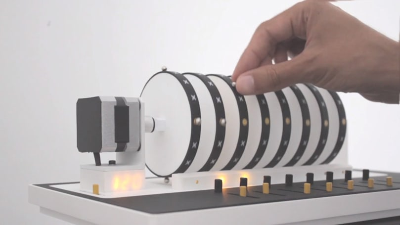 A digital music box for the nostalgic remix artist