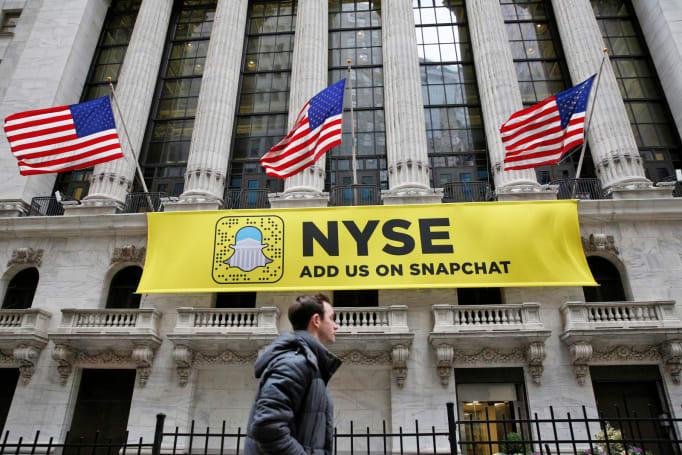 Snapchat 母公司正式在紐交所上市