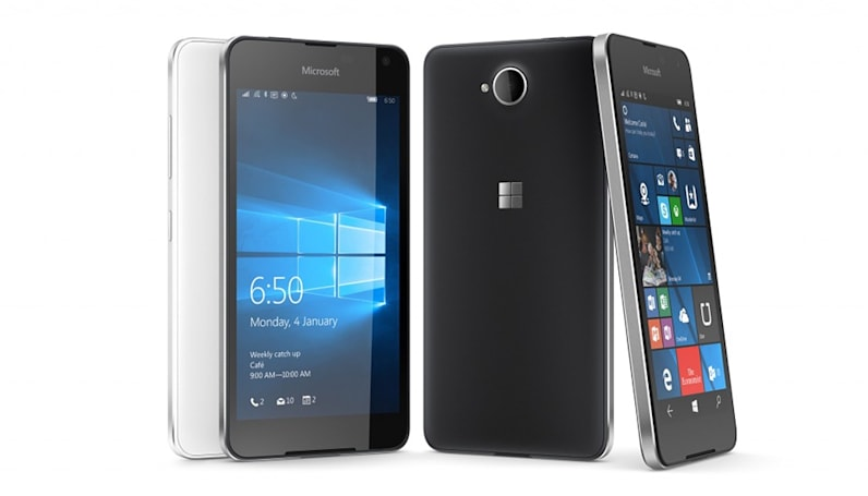 微软 Lumia 650 双卡双待预约启动