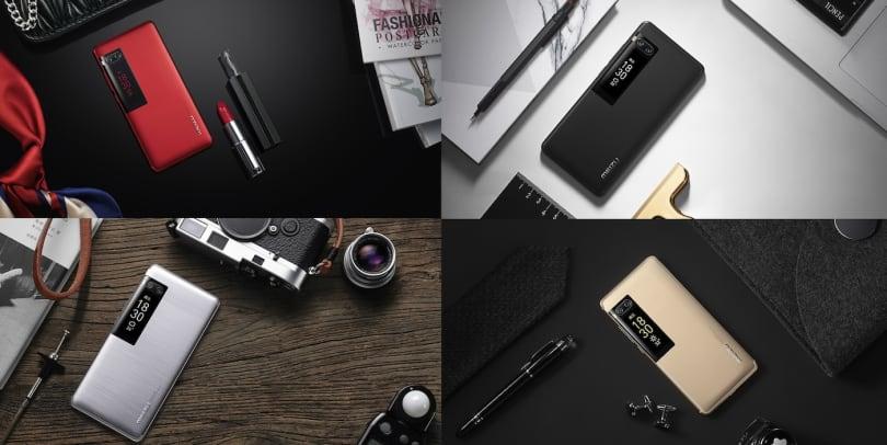 魅族 Pro 7 系列將副螢幕裝到了手機後背上