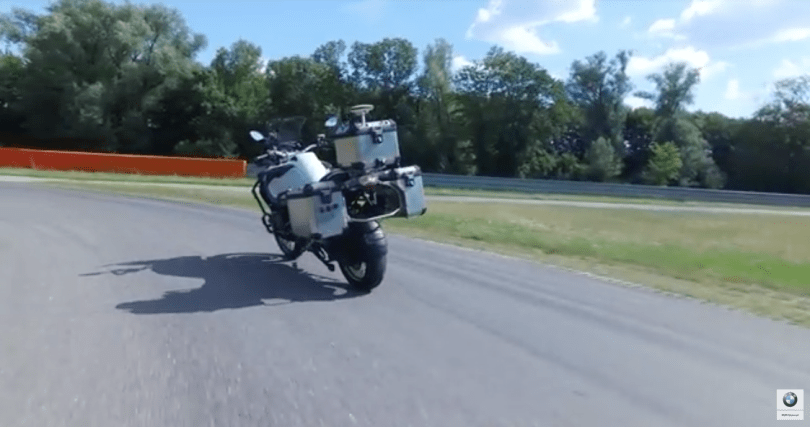 BMW developed a self-driving motorcycle to further its safety efforts