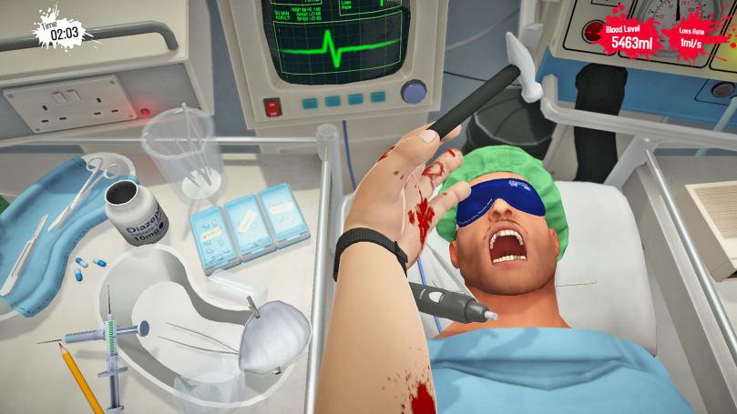 'Surgeon Simulator' arrives on Nintendo Switch this fall