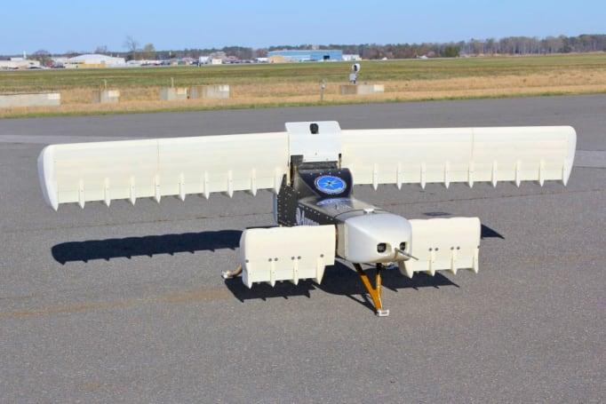 DARPA 成功试飞 24 风扇的电动飞机模型