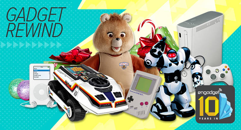 The top tech gifts of holidays past