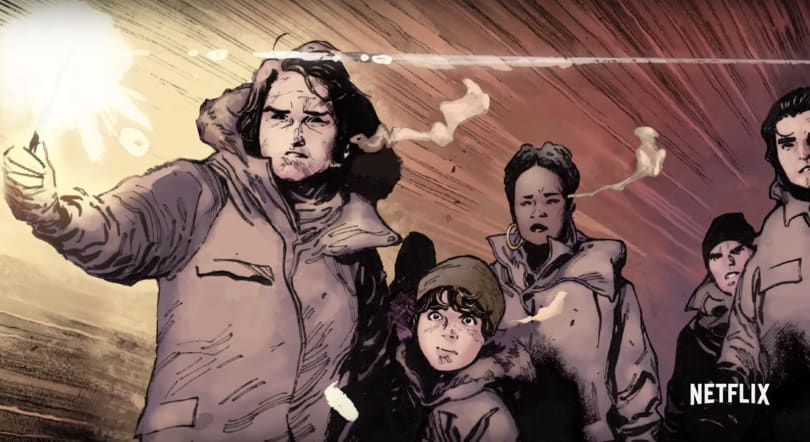 Netflix releases a trailer for 'The Magic Order' comic book