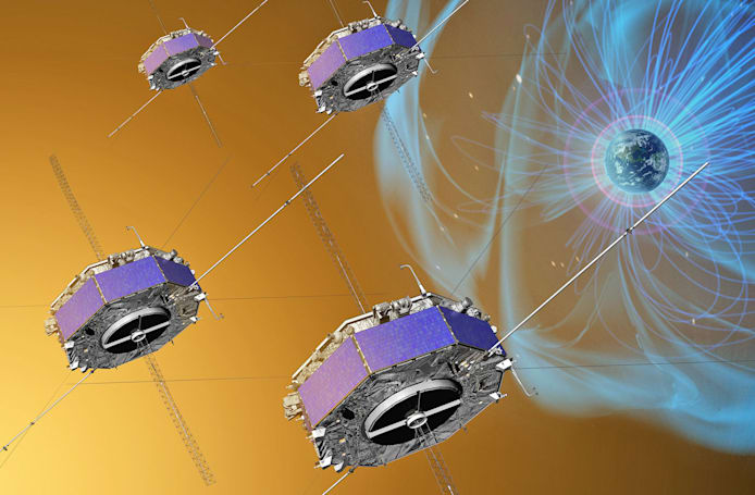 NASA spacecraft record magnetic explosions above Earth