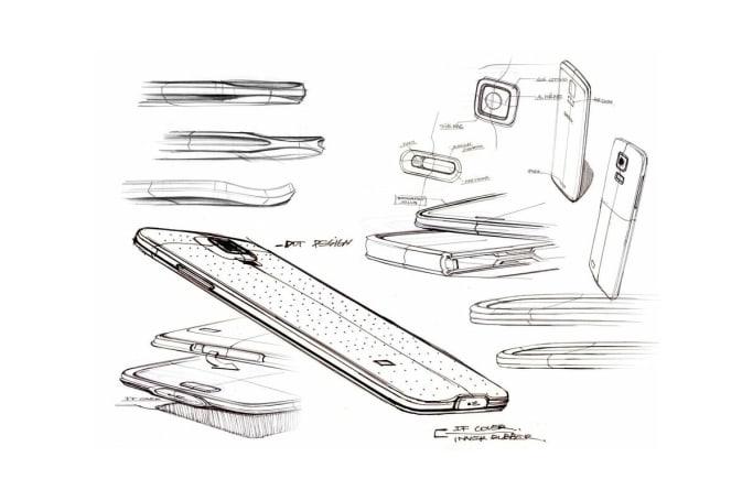 Samsung's more daring phone designs: a visual history