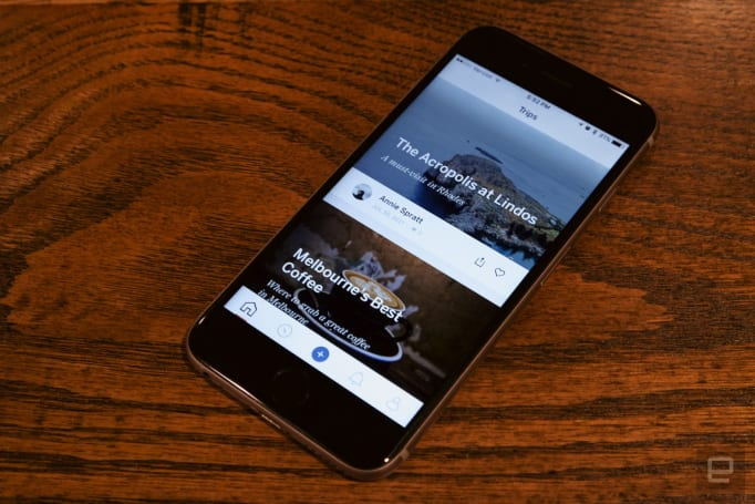 Lonely Planet's Trips app is Instagram for travel junkies