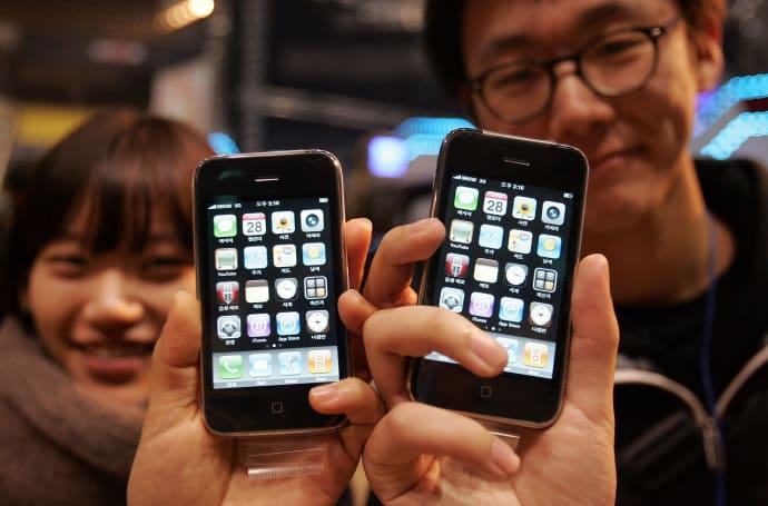 有一批 iPhone 3GS 重新在韩国上架了