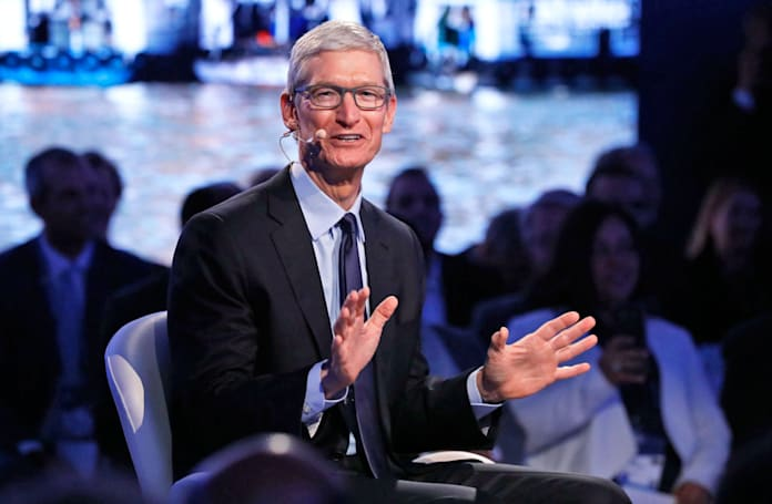 MSNBC's interview with Apple CEO Tim Cook airs tonight at 8PM ET