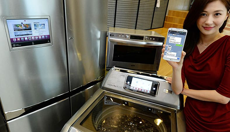 LG's SMS-activated smart appliances are ready to wsh ur shrts