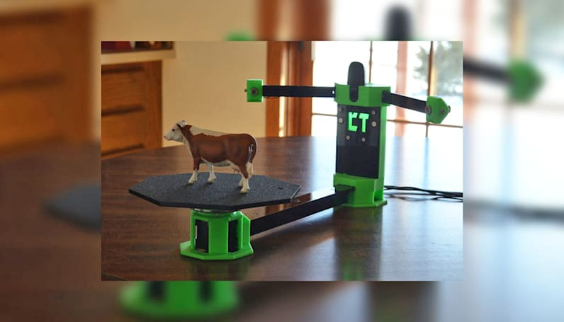 CowTech's $99 3D scanner captures detail from small objects