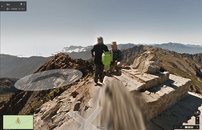 Google 街景正式登上玉山!一起抓著小黃人去找小綠機器人吧