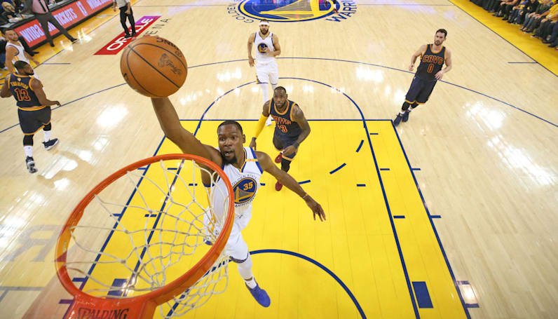 Relive monster dunks and other NBA finals highlights in VR