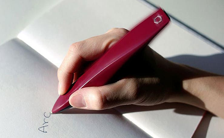 Vibrating pen makes it easier for Parkinson's patients to write