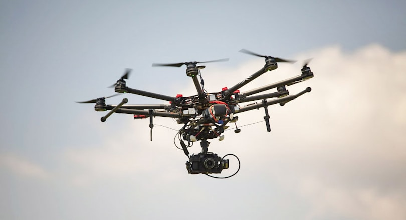 Big news outlets are researching drones at Virginia Tech