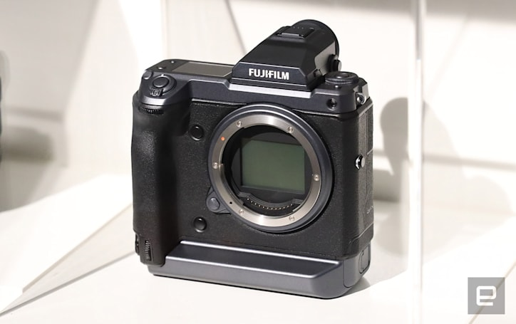Fujifilm shows off an insane 100-megapixel medium format camera