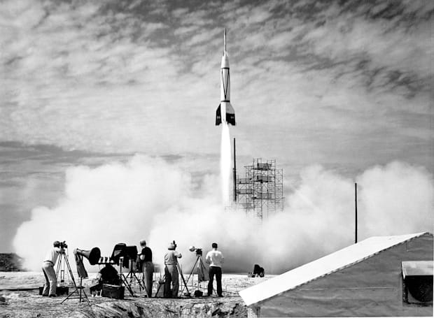 The birth of a spaceport