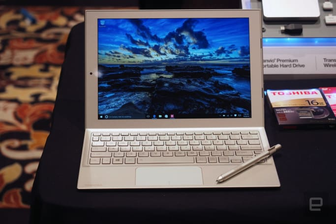 Toshiba thinks it has a Surface competitor in the DynaPad