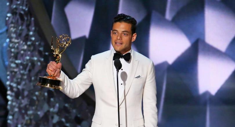 'Mr. Robot' star Rami Malek wins Outstanding Lead Actor Emmy