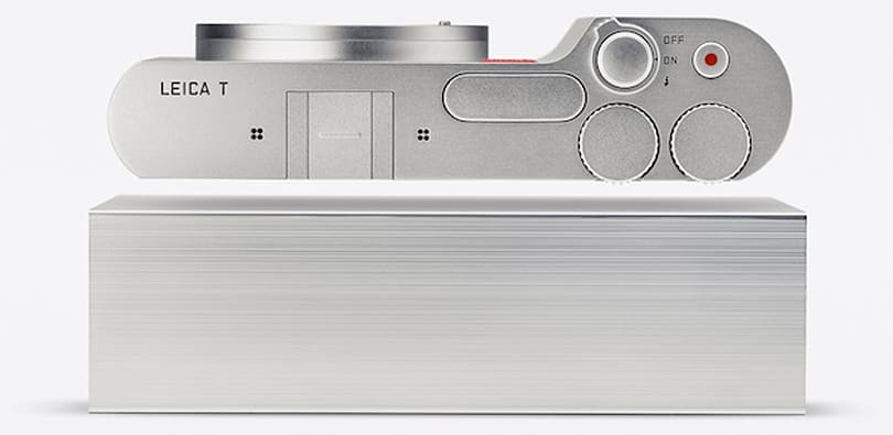 Leica's T mirrorless camera is built from a solid brick of aluminum