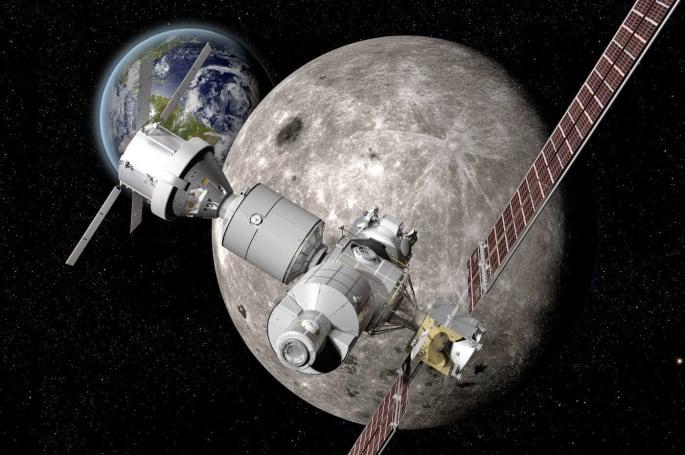 波音的月球太空站,可以為前往火星的太空人提供「休息站」服務