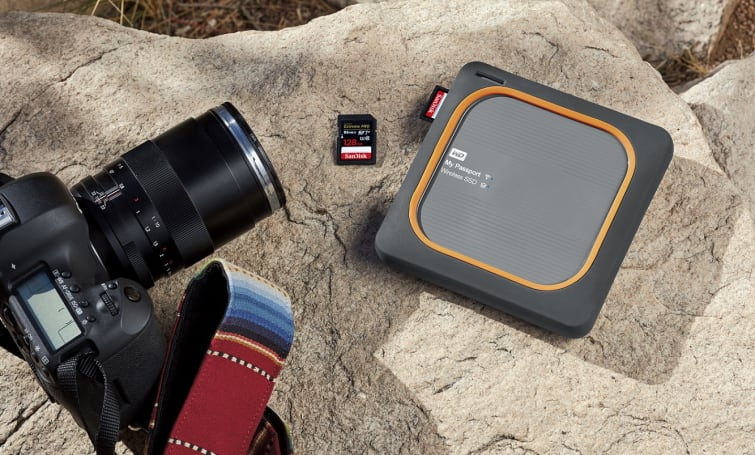 WD My Passport Wireless SSD 無線隨身硬碟在台推出