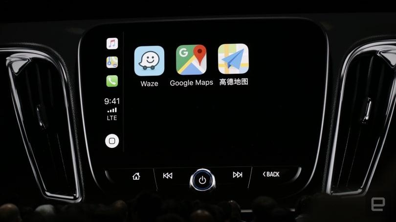 更新  iOS 12 後你終於可以在 CarPlay 上使用 Google Maps 了