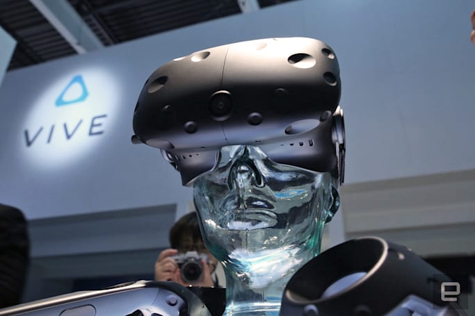 Here's our first look at the HTC Vive consumer edition