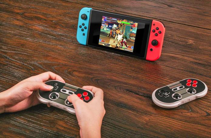 Nintendo's Switch has a retro gamepad option thanks to 8Bitdo