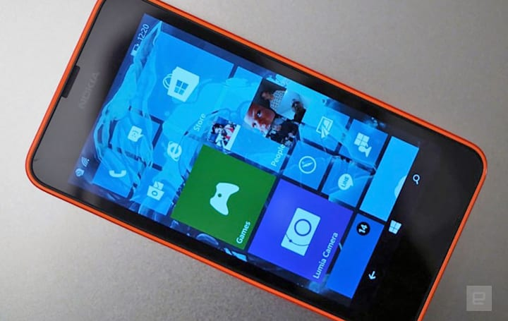 旧款 Lumia 的 Windows 10 Mobile 更新越来越近了