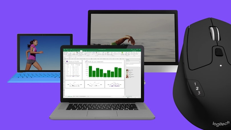 Logitech's new mouse works with three computers at once