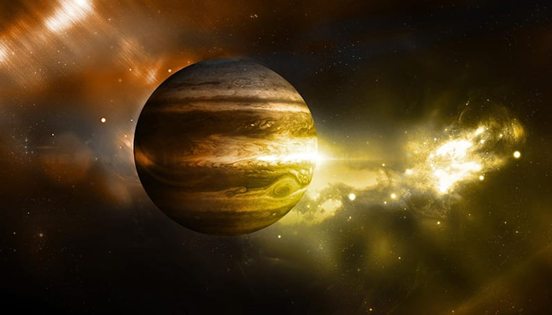 Jupiter is the oldest planet in the Solar System