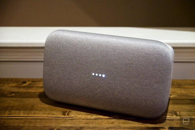 Google's Home Max premium speaker launches in the UK