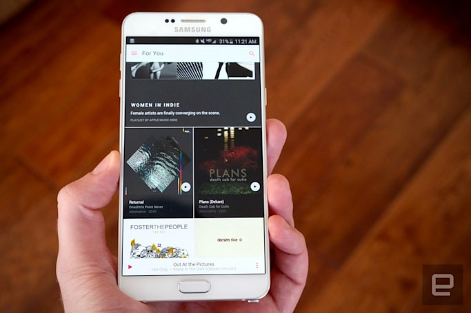 Apple Music gets an Android widget