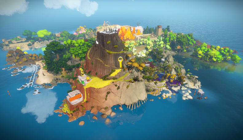 Virtual reality support for 'The Witness' sounds shaky
