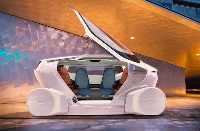 Self-driving 'InMotion' concept puts your living room on wheels