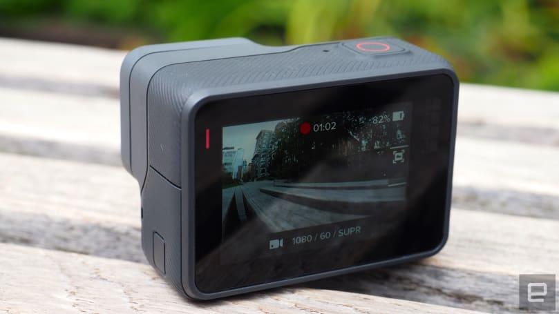 GoPro 视频也可以显示速度和活动信息