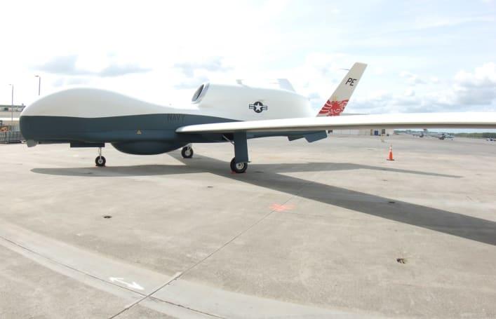 US Navy's MQ-4C Triton drone prepares for deployment in 2018