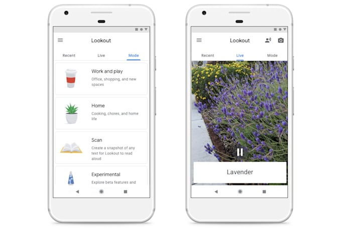 Google's Lookout will help the blind navigate their environment