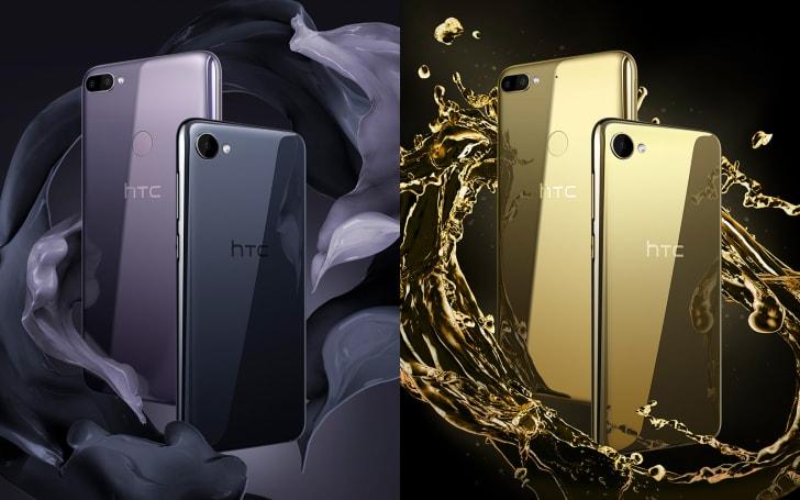 HTC Desire 12 系列的主打(可能也是唯一)卖点是漂亮