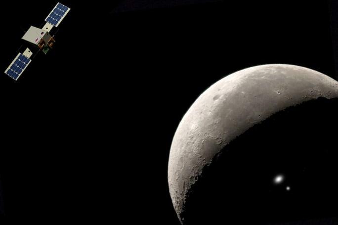 欧洲太空署决选两个小立方卫星来探测月球背后的奥秘