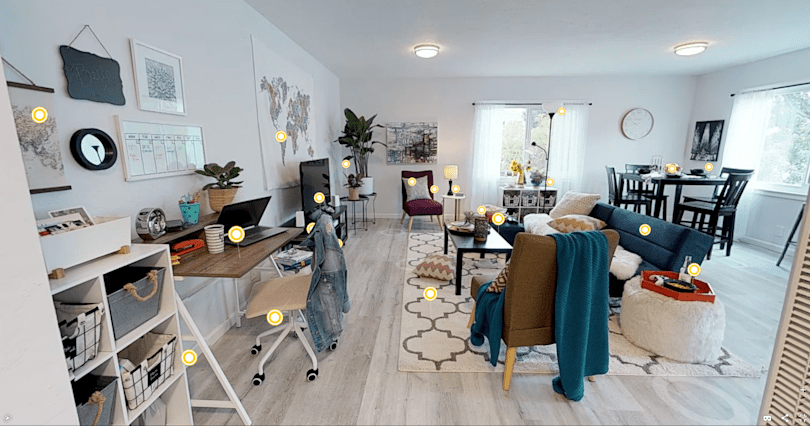 Walmart test lets customers shop a curated, virtual apartment