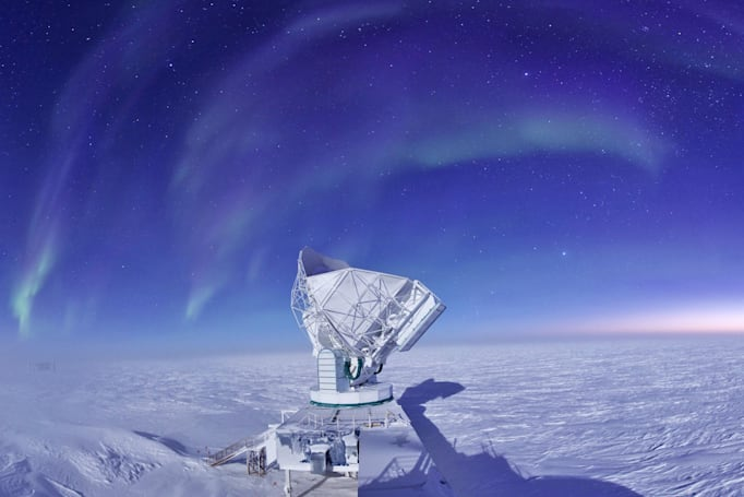 South Pole Telescope will study 'noise' from the early universe