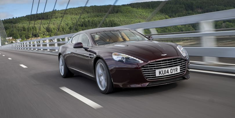 Aston plans Tesla-fighting 800-hp electric Rapide