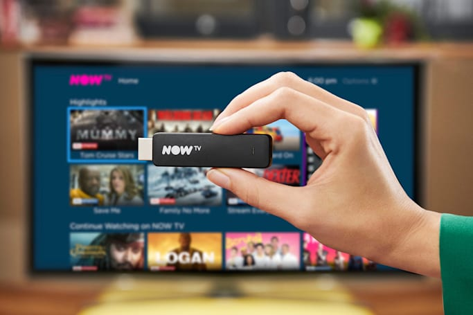 Sky's £15 Now TV streaming stick comes with a voice remote